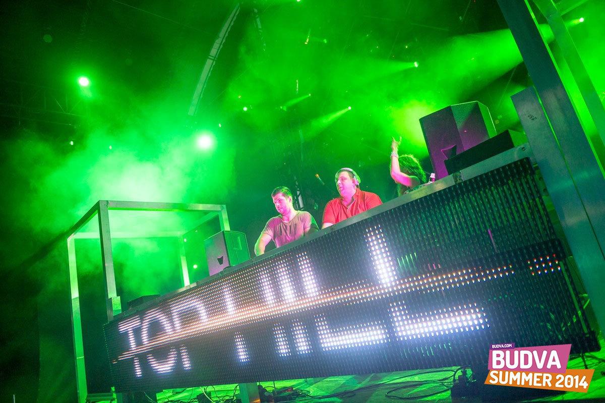 DJ Nigel & DJ Lo - klub Top Hill Budva