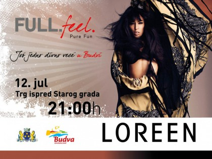 Loreen tonight in front of Old Town