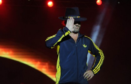 Performance Jamiroquai followed more than 22,000 people