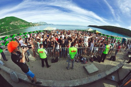 Great prelude party for ON/OFF Festival at Jaz Beach Budva