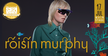 21st century diva Roisin Murphy to headline Sea Dance 2015!