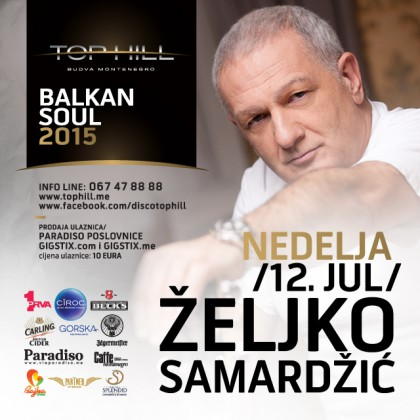 Zeljko Samardzic on Sunday in the club Top Hill