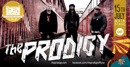 The Prodigy tonight at Sea Dance Festival - everything is ready for the spectacle