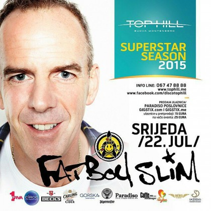 The sensation of summer: Fatboy Slim at Top Hill on July 22