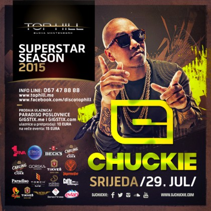 DJ Chuckie in Top Hill