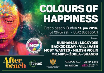 Promo party for Montenegro Colour Festival